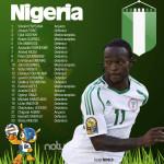 Nigeria, las Súper Águilas