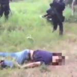Supuestos Federales asesinan a sicarios  (video)