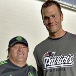 """""""No sé quién es pero le hice el día al chavo"""", dice el """"Piojo"""" Herrera de su foto con Tom Brady"""