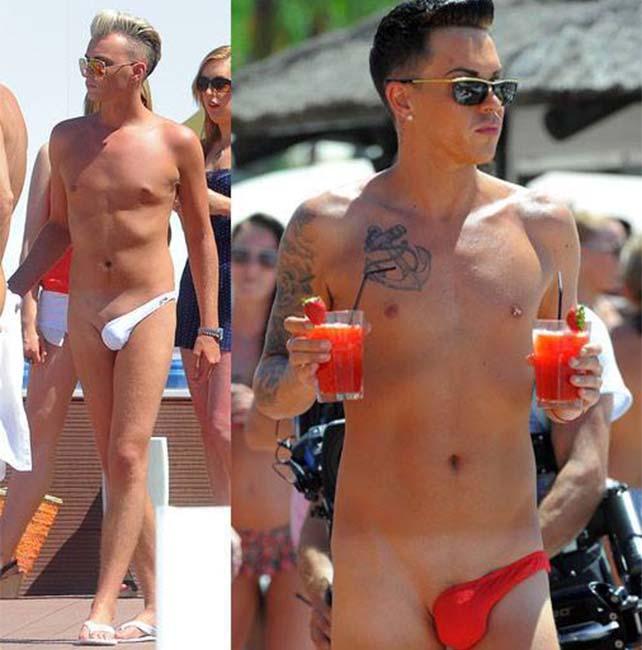 Moda en trajes de baño para hombres
