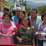 Inauguran obra en calle Padre Guevara