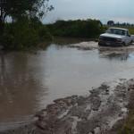 Daños severos en caminos rurales de Pénjamo
