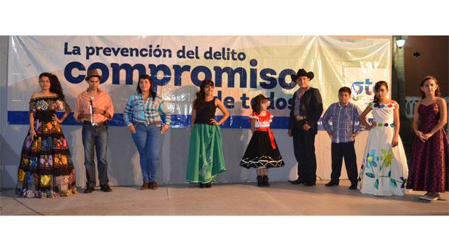 """Photo of """"Actuar es prevenir"""", concurso regional de canto"""
