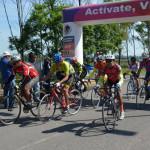 Abasolo sede de primer carrera promocional de ciclismo