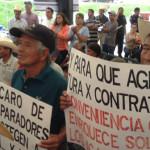 Productores se manifiestan en Abasolo; piden mejores precio de granos