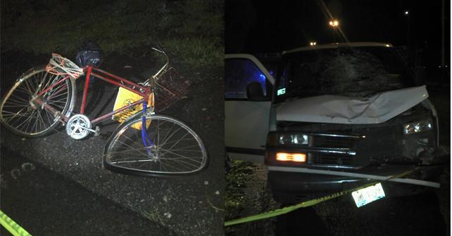 Photo of Muere atropellado ciclista abasolense; el puente estaba a 100 metros