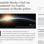 """Medios alemanes dan a conocer noticia de """"delincuente"""" detenido en Pénjamo"""