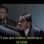«Hitler se entera de la eliminación de México»