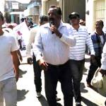 Ucopistas marchan en Abasolo; acusan a gobierno de corrupto y nepotismo