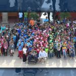 Visitan niños presidencia municipal