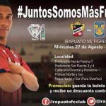 """Preparada """"La Trinca"""" para seguir sumando contra Tigres y Zacatecas"""
