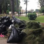 """Usan parque de la colonia """"La Pradera"""" como basurero"""