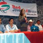 """Toma de protesta de regidora en Red Jóvenes, """"presenta"""" a aspirantes a alcaldía"""