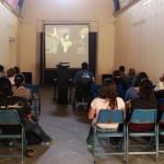 Proyección de cine de arte en Casa de la Cultura