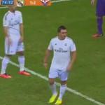 Falso Cristiano Ronaldo burla seguridad y confunde a jugadores