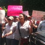 Habitantes de Purísima del Progreso se manifiestan durante Sesión de Ayuntamiento