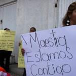 Total apoyo a maestra: caso de presunto niño golpeado en kínder de La Pradera
