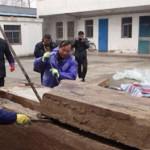 Misteriosa caja encuentran obreros chinos