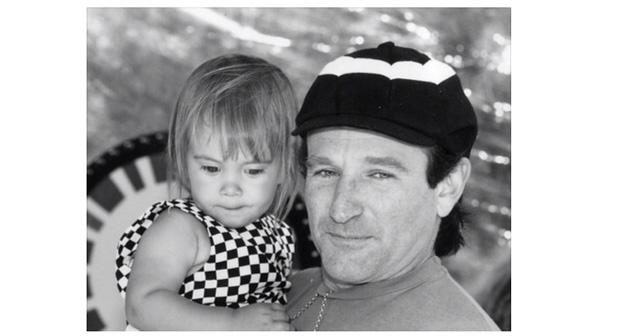 Photo of Robin Williams dedicó la última foto a su hija