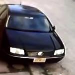 Así cristalean autos en Tuxtla Gutiérrez