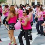 Fomentan actividad física con baile zumba