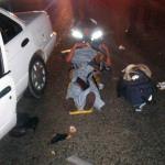 Dos muertos y tres lesionados en choque en Abasolo