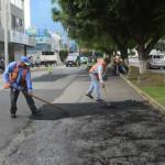 Sigue el mantenimiento vial en avenidas y fraccionamientos de Irapuato