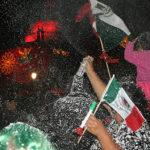 Miles de irapuatenses festejaron la independencia nacional