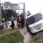 Autobús vuelca y deja 9 lesionados en Irapuato