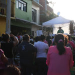 Oran por la paz en Barrio Nuevo y Barrio de la Salud