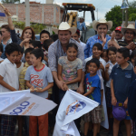 Arrancan obras de pavimentación en la comunidad de Tamazula y El Progreso
