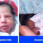 Activan Pre Alerta Amber: bebé de 3 semanas de nacida