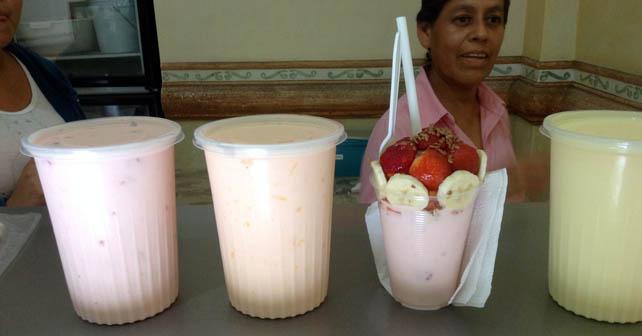 El yogurth de Abasolo es un icono por su tradición Foto: Esaú González