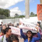 Vigila DH a manifestantes y policías en Guanajuato