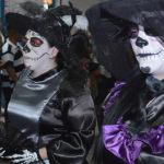 Tradicional desfile de Catrinas del CECYTEG