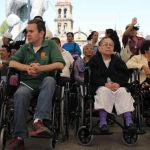 Entrega Municipio 74 sillas de ruedas
