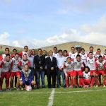 """Instituto Irapuato y """"La Trinca"""" inauguran nueva cancha de futbol"""