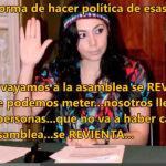 """""""La Juanita de Yulma Rocha""""; fuego amigo"""