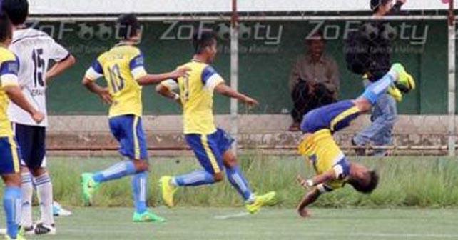 Photo of Muere futbolista al festejar gol