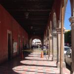 Portal Zaragoza detenido con puntales