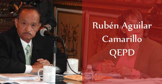 Regidor Rubén Aguilar Camarillo Foto: Facebook personal del regidor