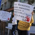 Protestan pidiendo Paz y tranquilidad
