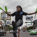 El Circo Caminante de Gerardo Laguna
