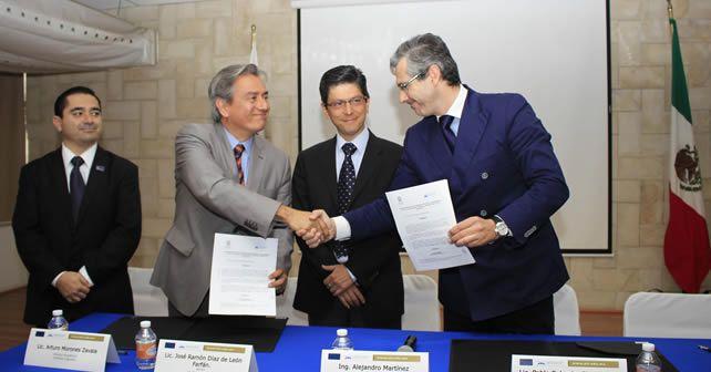 Photo of Firma Universidad Instituto Irapuato convenio con la Universidad Católica de San Antonio de Murcia
