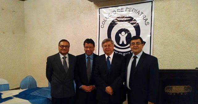 Photo of Mario Bolaños Cedeño nuevo presidente del Colegio de Pediatras en Guanajuato