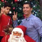 Cristiano Ronaldo ya hizo su cartita a Santa Claus