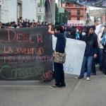 """Manifestantes """"ocasionan"""" la cancelación del desfile en Pénjamo"""