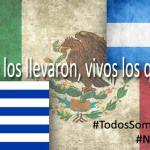 En Argentina y Uruguay también piden regreso de normalistas