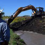 Limpieza y desazolve de canales y arroyos de Pénjamo