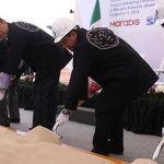 Ponen primera piedra de Viscotec en Abasolo, generará 200 empleos